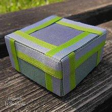 Krabičky - pásiky - 5612127_