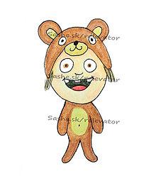 Kresby - Ako medvedík - 5609706_