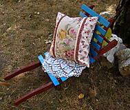 Úžitkový textil - vankúš .... rezné plátno III - 5613143_