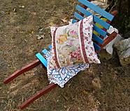 Úžitkový textil - vankúš .... rezné plátno III - 5613145_