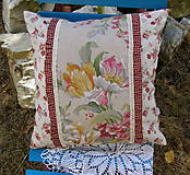 Úžitkový textil - vankúš .... rezné plátno III - 5613146_