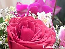 Fotografie - Ruža v kytici - 5613196_