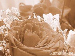 Fotografie - Ruža v kytici - 5614653_