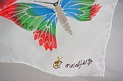 Šatky - Šatka Motýliková - 5614719_