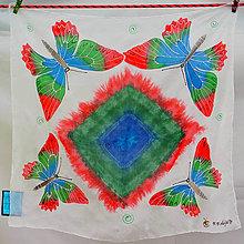 Šatky - Šatka Motýliková - 5614717_