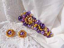 Ozdoby do vlasov - spona...keď kvitne levanduľa a dozrieva obilie... - 5612462_