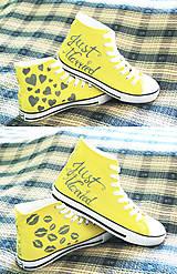 Obuv - svadobné - žlté - 5613485_