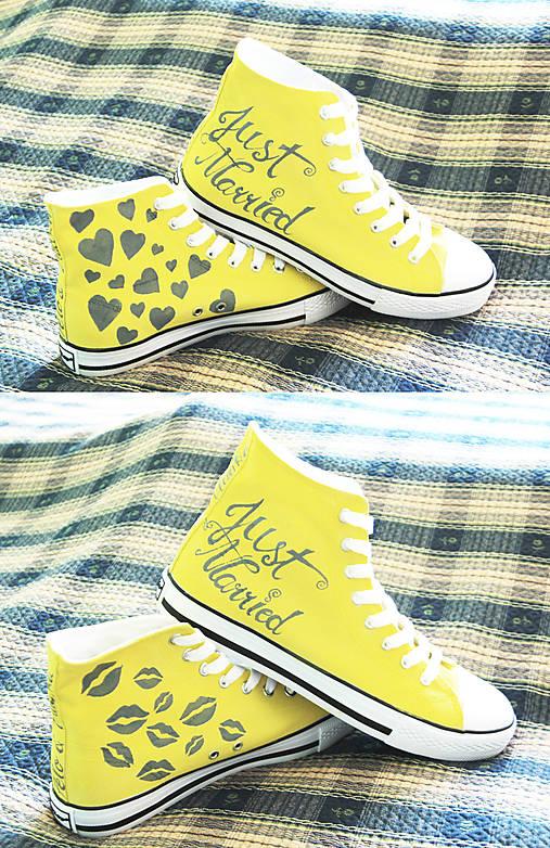 svadobné - žlté