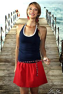 Šaty - Letné šaty na viazanie Saint Tropez - 5612638_