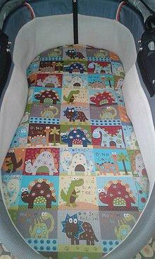 Úžitkový textil - Podložka do hlbokého kočíka na mieru - 5617961_