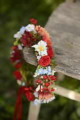 Ozdoby do vlasov - venček by michelle flowers - 5616621_