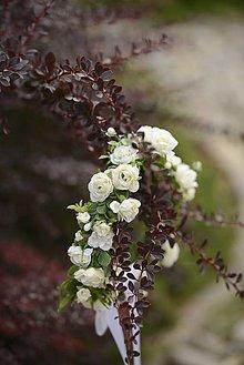 Ozdoby do vlasov - venček by michelle flowers - 5616650_