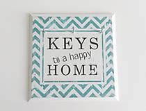 Nábytok - Vešiak na kľúče KEYS CIK-CAK - 5616037_