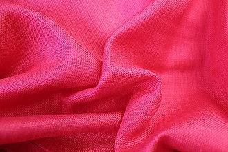 Textil - Ľan ružový - 5615508_