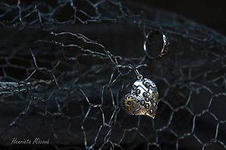 Náhrdelníky - STEAMPUNK ♥ - prívesok - 5616754_