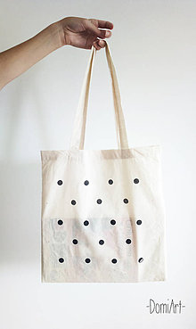 Nákupné tašky - plátená taška _ INÁ bodka - 5620063_