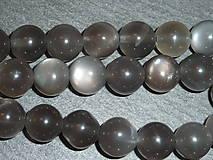 - Mesačný kameň čierny A 10mm - 5618942_