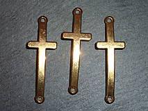 Komponenty - Zlatý krížik - 5619346_