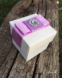Darčeky pre svadobčanov - Darčeková krabička - 5620909_