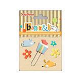 Iný materiál - Kovové svorky + spinka Basik&K - 5622957_