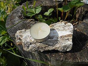 Svietidlá a sviečky - wood opal from sk. ...ako svietnik - 5623056_
