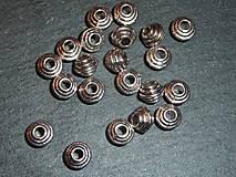 - Kovová korálka J 6x6 - 5622451_