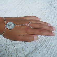 Náramky - Hand chain 8 - 5623107_