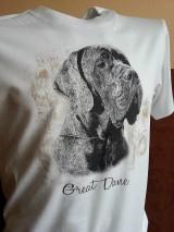 Tričká - Nemecká doga - tričko (XL) - 5625044_