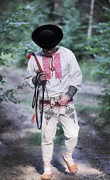 Oblečenie - Folk košeľa - Fačkov - p - 5627052_