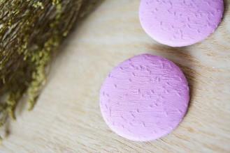 Materiál ručne robený - .gombičiská v romantickej ružovej 38mm - 5627568_