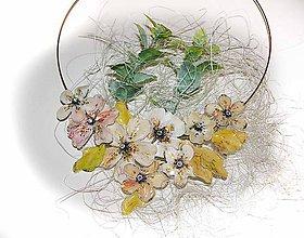 Náhrdelníky - také ...nežné...flowers - 5628205_