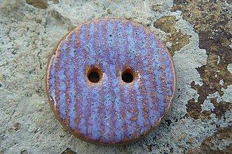 Materiál ručne robený - Gombíky fialové* - 5626227_