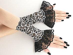Rukavice - Spoločenské dámské  rukavice , návleky 0185E - 5631056_