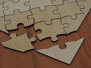 Papiernictvo - Svadobná kniha puzzle - 5628633_