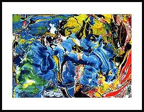 Obrazy - Abstrakcia CXXXVII - 5631434_