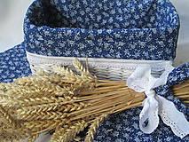 Košíky - Krása modrotlače - 5630537_