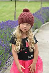 Detské čiapky - Čepice - 5629479_