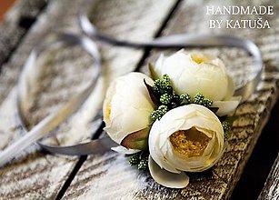 Náramky - nádherná svadba - 5628438_