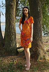 Šaty - Letné šaty pre odvážne dámy - 5630706_