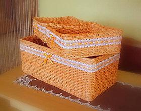 Košíky - košík - Darinka mandarinka - 5629540_