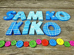 Tabuľky - samko a kiko - 5632935_