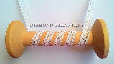 Galantéria - Bavlnená krajka 14 mm - 5633761_