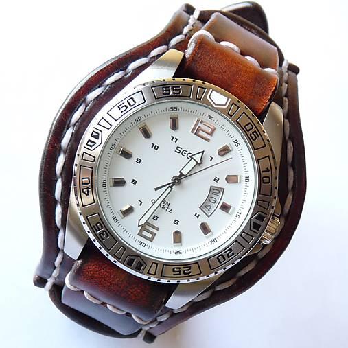 9285e02d3 Vintage hodinky hnedé / leon - SAShE.sk - Handmade Náramky