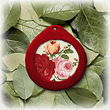 Náhrdelníky - Kvetinový prívesok - 5633161_