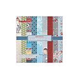 Papier - Sada papierov 15x15cm Once upon a Winter - 5635520_