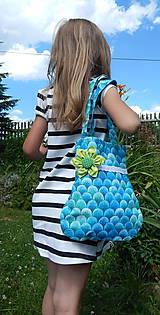 Detské tašky - Detská taška -  Tyrkys - 5634706_