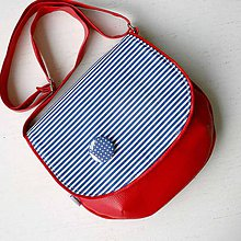 Kabelky - Adeline (červeno-modrá) - 5636822_