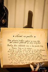 Papiernictvo - Svadobný pergamen :) / na zákazku - 5635330_