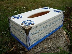 Krabičky - Box na kapesníky Folklór - 5639895_
