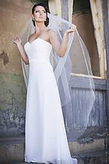 Šaty - Korzetové svadobné šaty - 5639035_